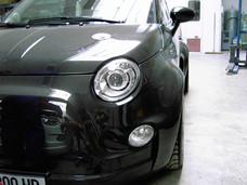 Construction carrosserie en carbone sur mesure pour show-car voiture luxe