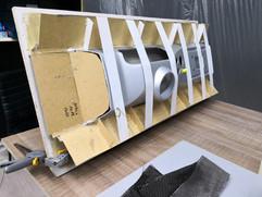 Fabrication moule composite carbone compétition automobile