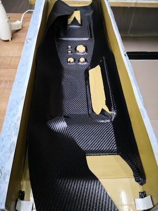 Fabrication piece en carbone apparent supercar - Ford GT Ferrari Lamborgnini Mclaren