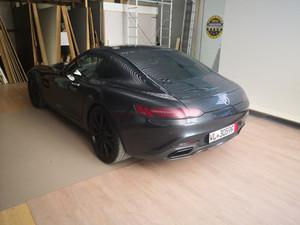 Recouvrir fibre de carbone pièce origine Mercedes AMG