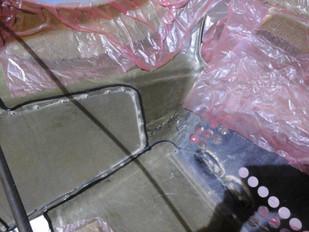 Réparation piece carrosserie hybride carbone kevlar sport automobile - compétition