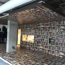 3d gietvloer boekenkast