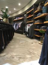 Gietvloer kledingwinkel