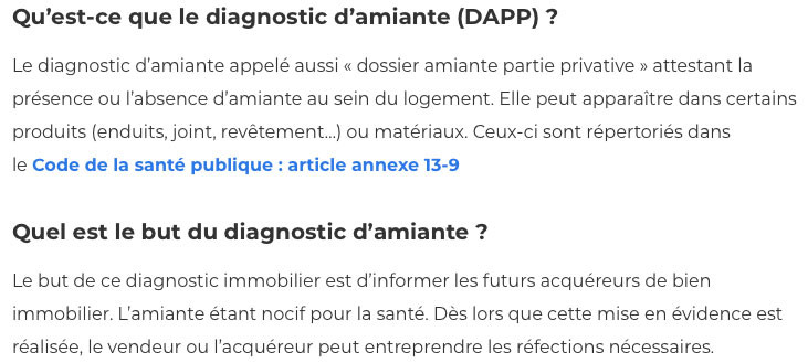 Diagnostic amiante-IMMONORD77-agence immobiliere Claye Souilly