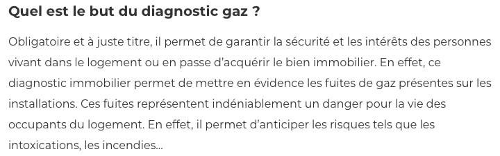Diagnostic gaz-IMMONORD77-agence immobiliere Villeparisis