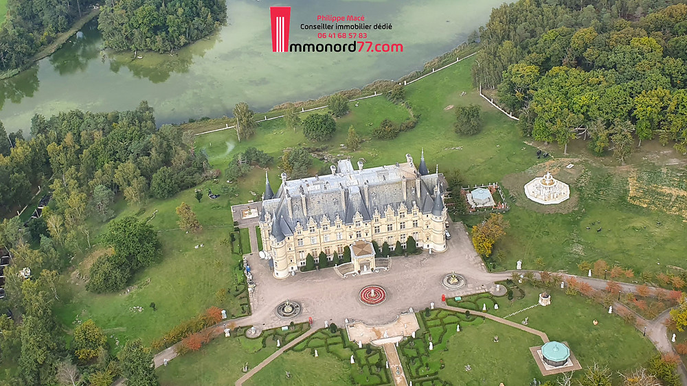 Chateau la valliere avec Immonord77