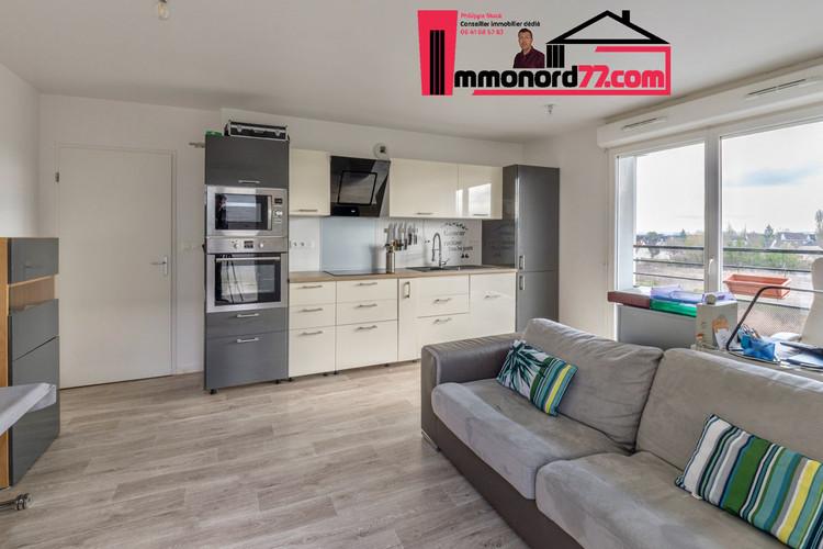 A vendre appartement-T3-Claye-Souilly-salon-sejour