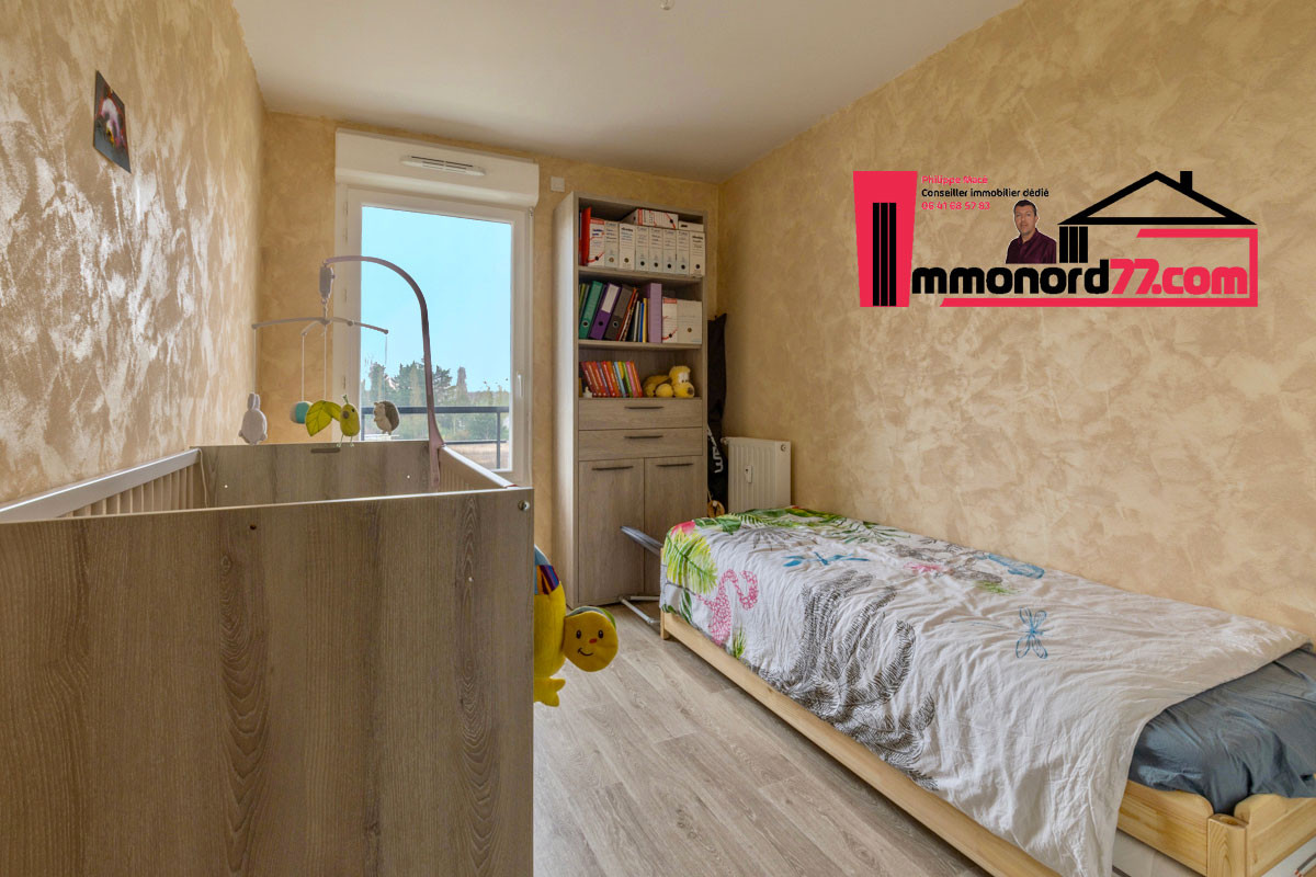 A vendre appartement-T3-Claye-Souilly-chambre2