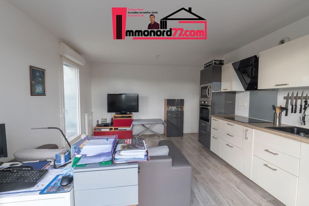 A vendre appartement-T3-Claye-Souilly-salon