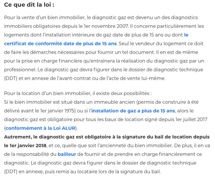 Diagnostic gaz-IMMONORD77-agence immobiliere Mitry-Mory