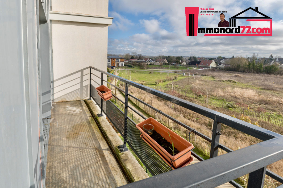 A vendre appartement-T3-Claye-Souilly-balcon