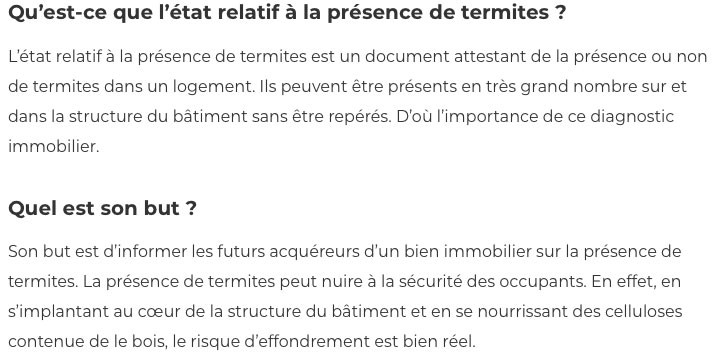 Diagnostic termites-IMMONORD77-immobilier Mitry-Mory