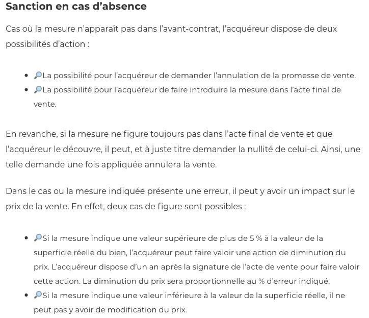 Diagnostic carrez-IMMONORD77-agence immobilier Villeparisis