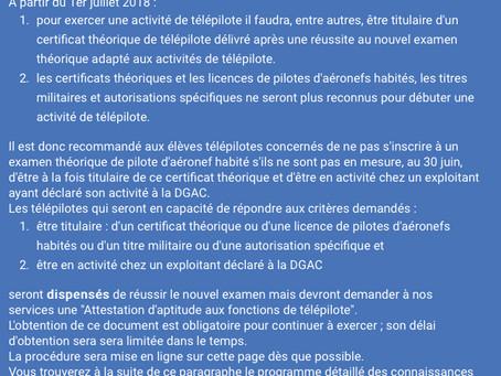 Nouveau Théorique DGAC Telepilote