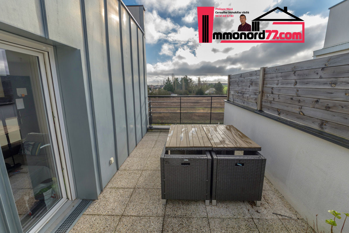 A vendre appartement-T3-Claye-Souilly-terrasse