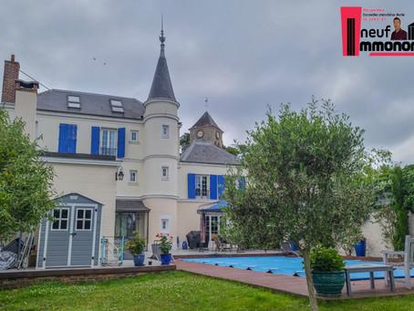 Villa à vendre à 15 minutes de Roissy Charles de Gaulle
