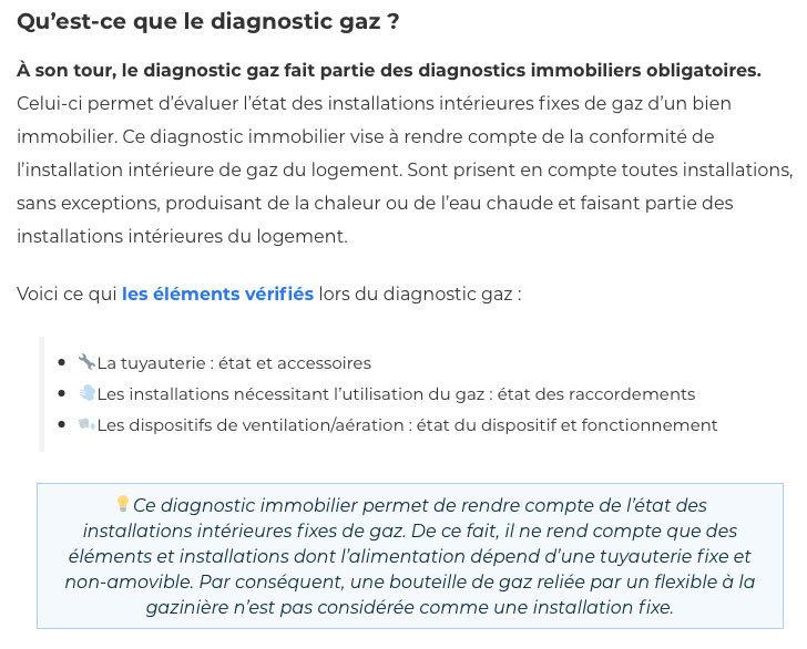 Diagnostic gaz-IMMONORD77-agence immobiliere Claye Souilly
