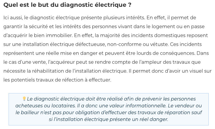 Diagnostic electrique-IMMONORD77-agence immobiliere Claye Souilly