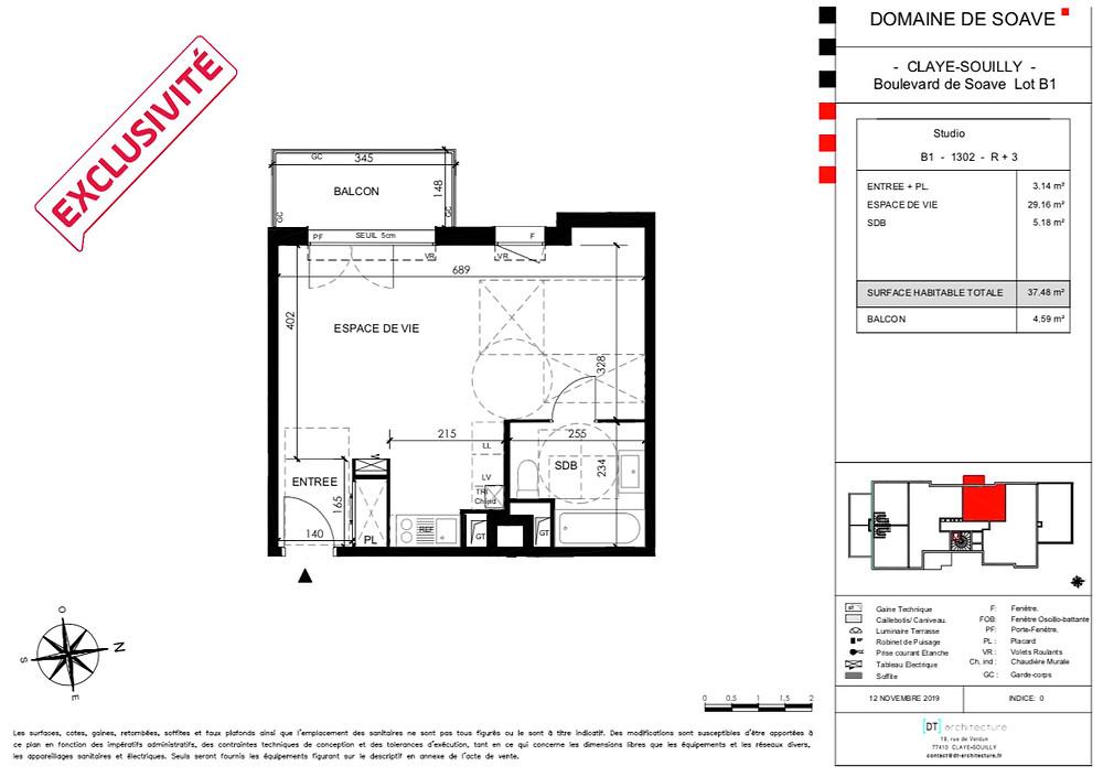 Studio Neuf Claye Souilly 77410
