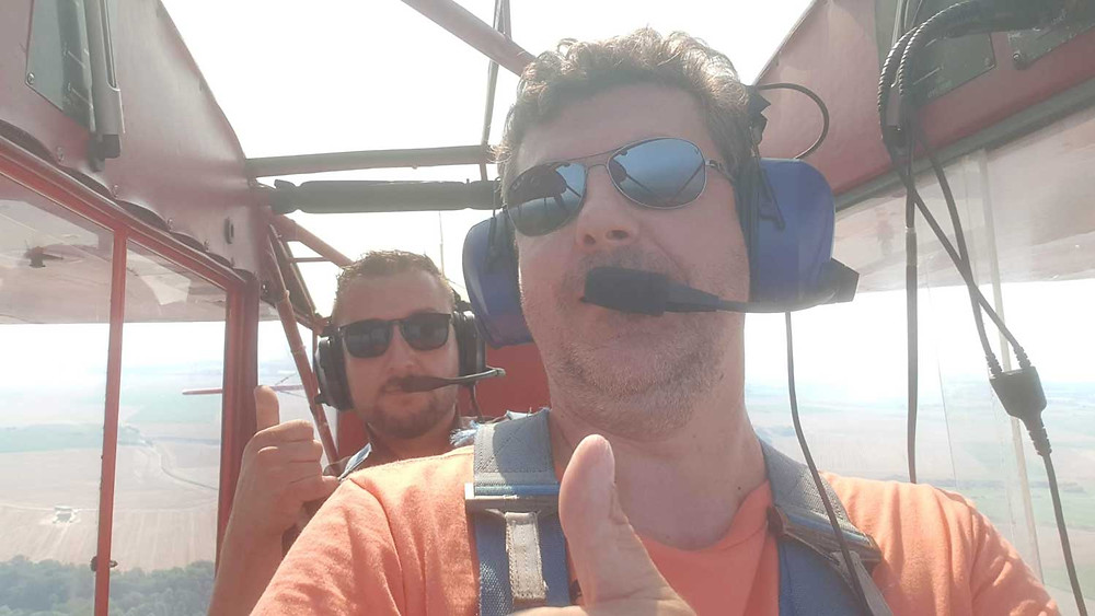 Vol en avion avec IMMONORD77