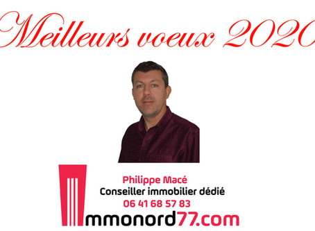 Meilleurs Voeux 2020 - Immonord77
