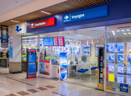 Dépensez les e-Cartes Emrys dans l'agence de voyage Supermarché 1