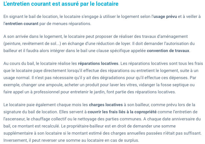Travaux entre locataires/propriétaires-IMMONORD77-immobilier Mitry-Mory
