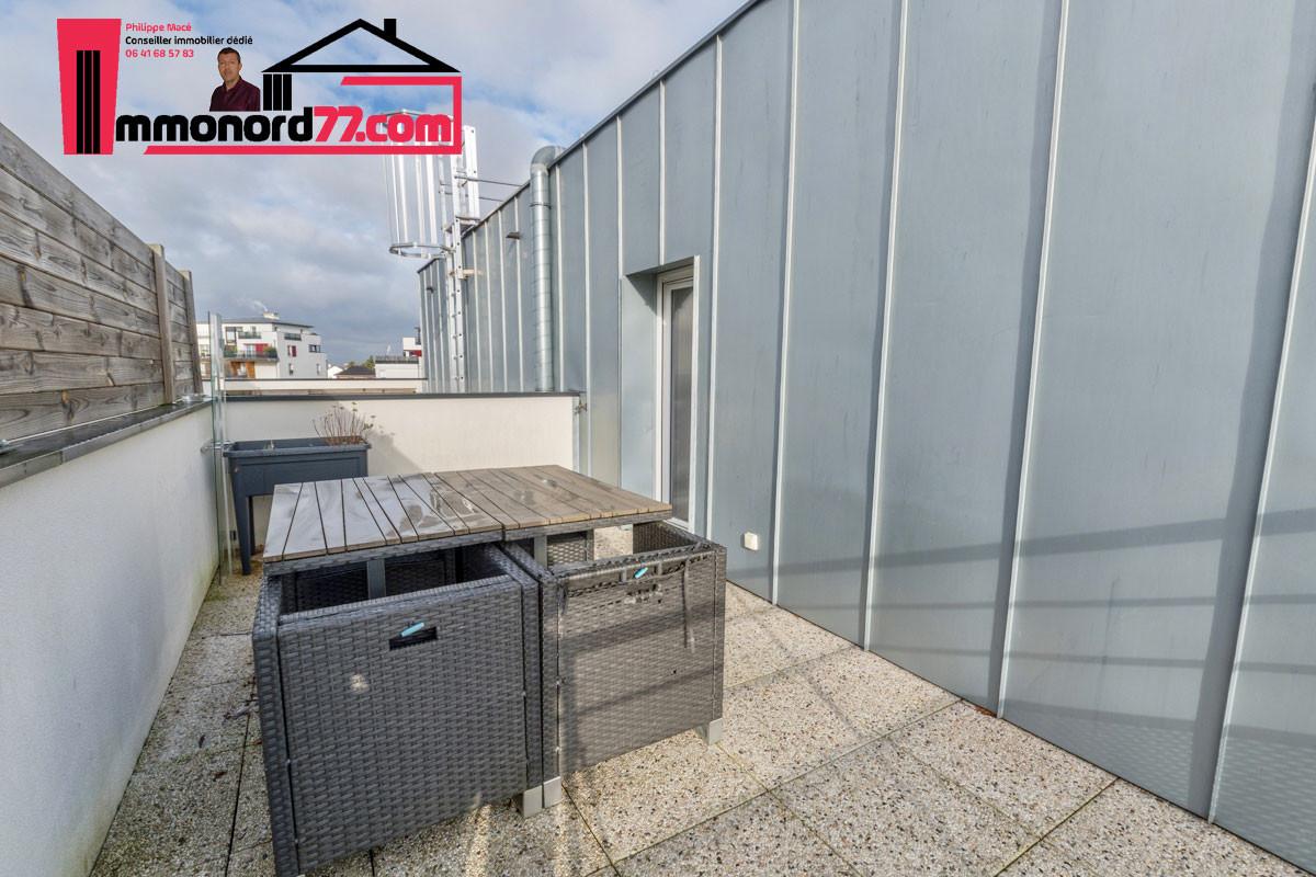 A vendre appartement-attique-T3-Claye-Souilly