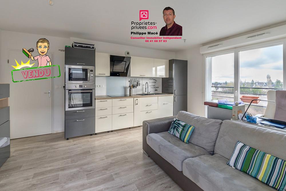 Appartement T3 vendu à Claye Souilly