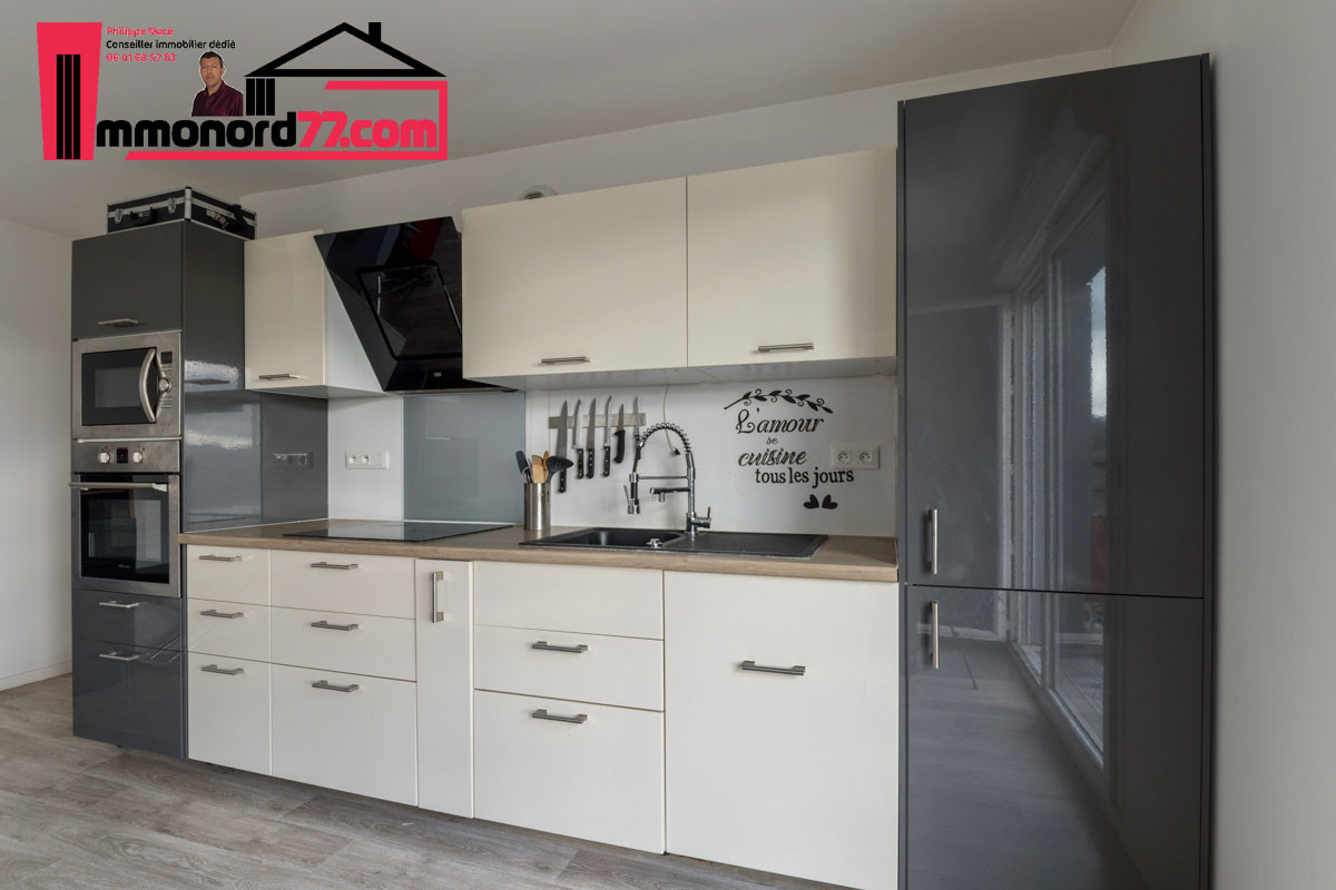 A vendre appartement-T3-Claye-Souilly-cuisine