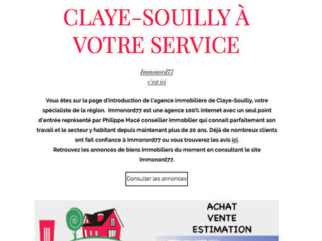 Agence-immobilière-claye-souilly Immonord77