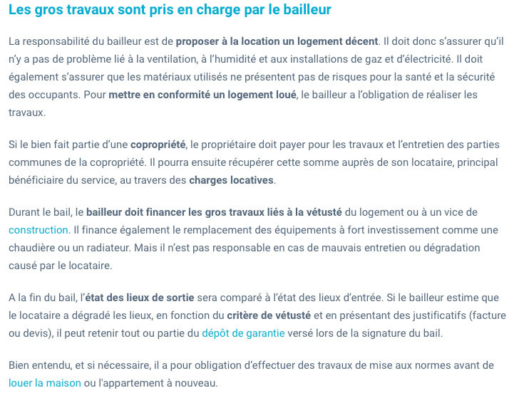 Travaux entre locataires/propriétaires-IMMONORD77-immobilier Villeparisis