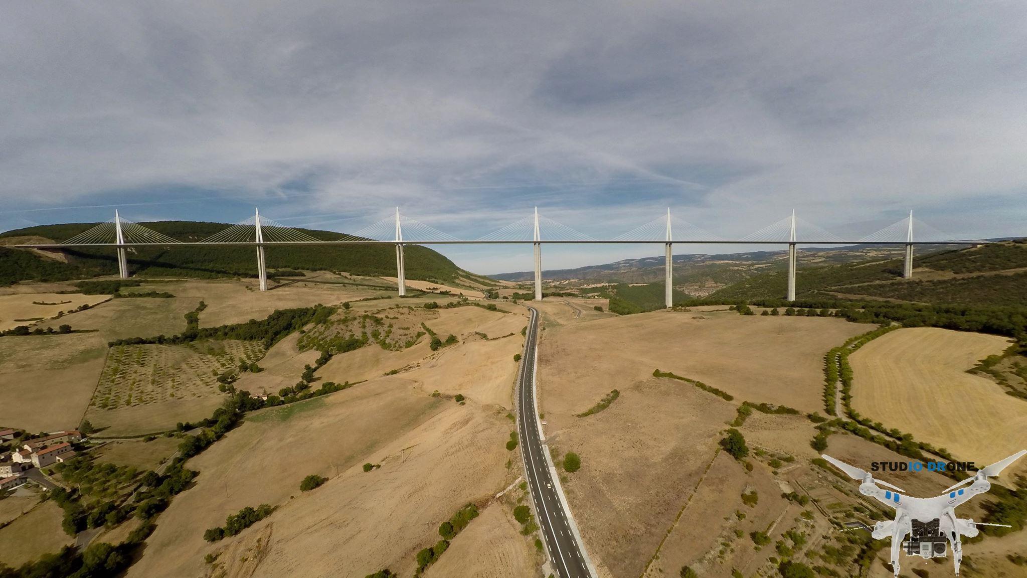 Viaduc de Millau-Studio Drone