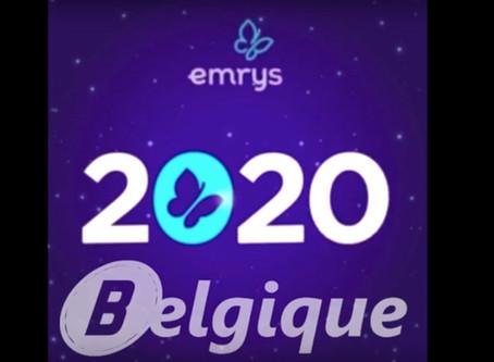 Emrys la carte en Belgique