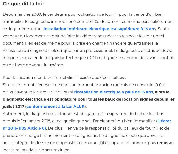 Diagnostic electrique-IMMONORD77-agence immobiliere Villeparisis