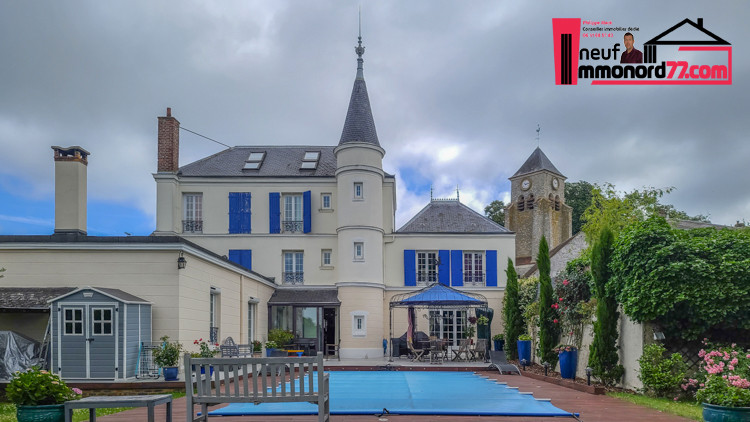 A vendre Villa de luxe Roissy Charle de Gaulle