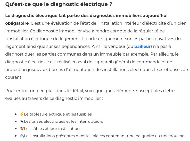 Diagnostic electrique-IMMONORD77-immobilier Claye Souilly