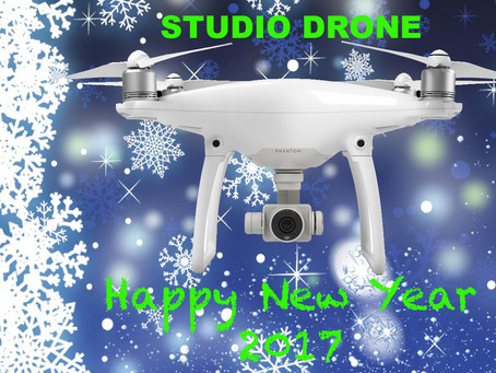 Meilleurs Voeux 2017 - STUDIO DRONE