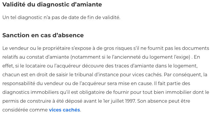 Diagnostic amiante-IMMONORD77-immobilier Mitry Mory