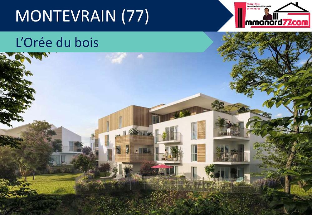 Résidence l'Orée du Bois - 77144 Montévrain
