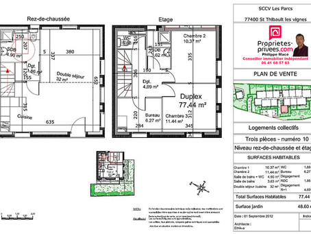 Duplex T3 neuf - Dispo immédiate