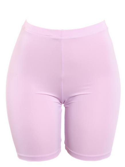 Audrey - High Waisted Biker Shorts