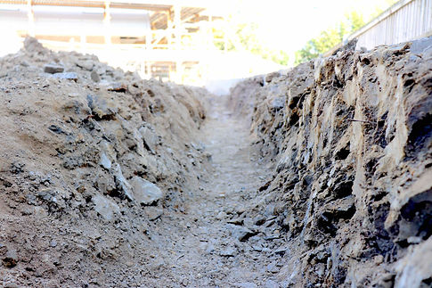 Strip Footing - Custom Homes