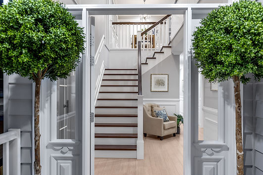 Hamptons Style Entrance - Custom Built H