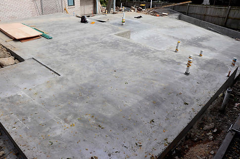 Concrete Slab - Custom Homes
