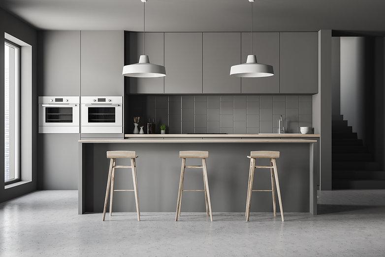 Modern Kitchen - Custom Home Builder
