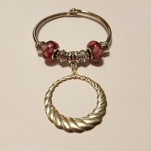 Open Round Scarf Ring