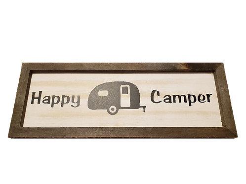 Wood Sign - Happy Camper