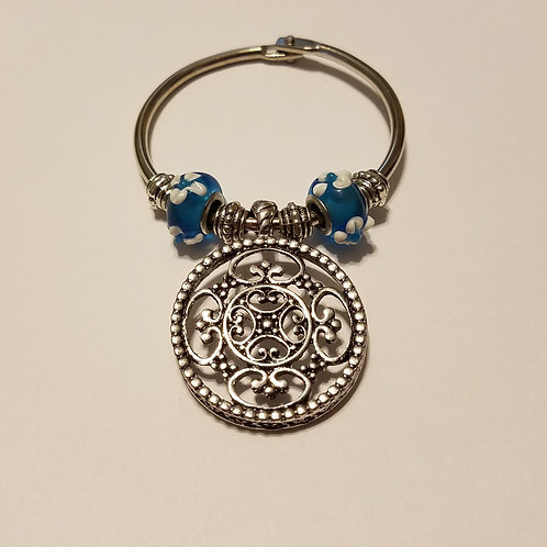 Fancy Round Scarf Ring