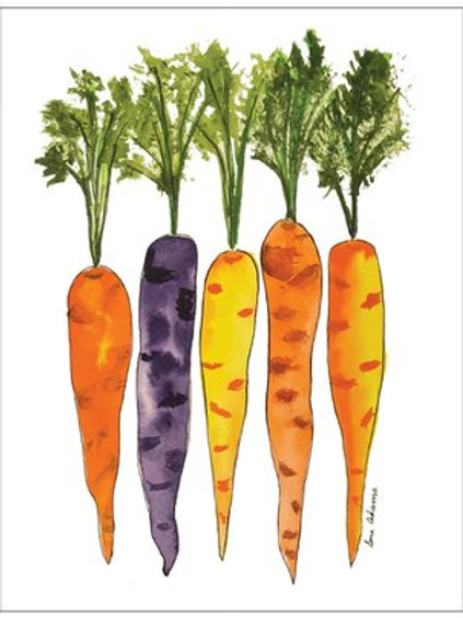 Carrots Note Card Set of 10